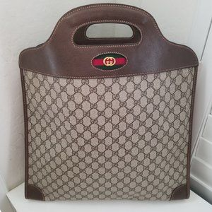 ⭐SALE/FIRM PRICE⭐ Vintage Gucci GG Tote